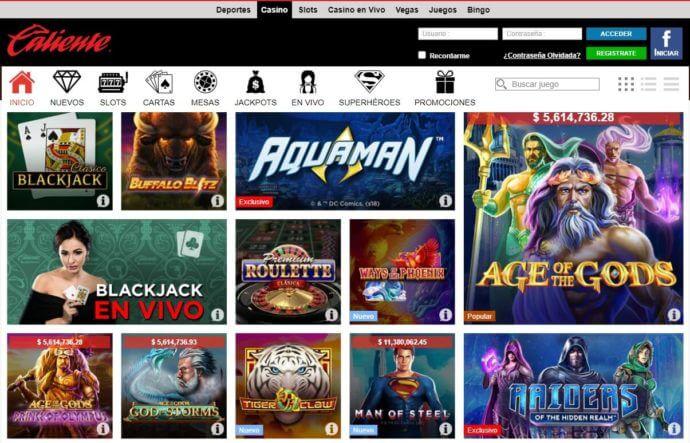 Casino Caliente online